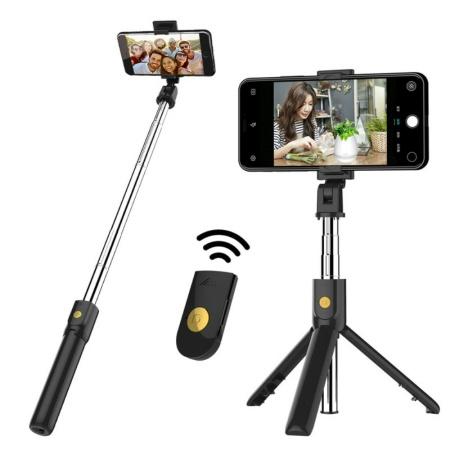 Bluetooth Selfie Stang & Mobile Universal 3-i-1 Tripod