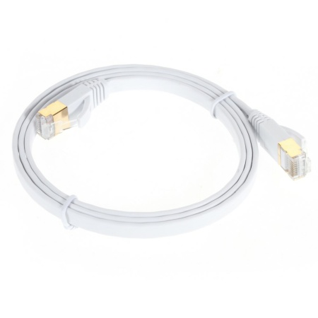 Flad Netværkskabel UTP Cat7 Rj45 10 Gigabit