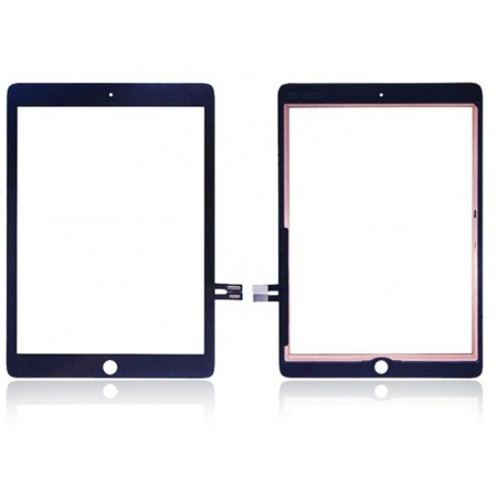 IPad 6 2018 Sort Touch Skærm(Uden Knap)