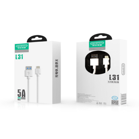 Iphone Usb Cable kyr-L31 5A Fast Oplader (10 Stk)