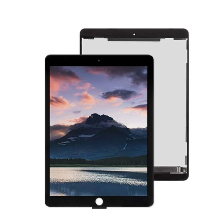 iPad Air 2 Komplet Touch og Lcd Skærm (Oem Kvalitet) - Sort