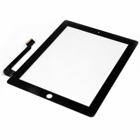 iPad 3 Touch Skærm (OEM)  - Med Home knap - Sort