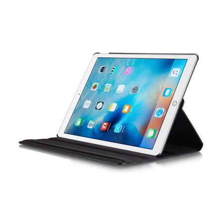 iPad Pro 12,9 1/2 Gen. - 360 graders rotering Flip PU Læder  Cover