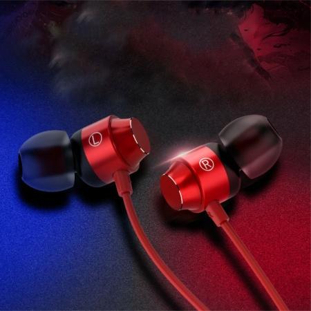 C-type Hovedtelefoner Stereo Headset Med Mikrofon