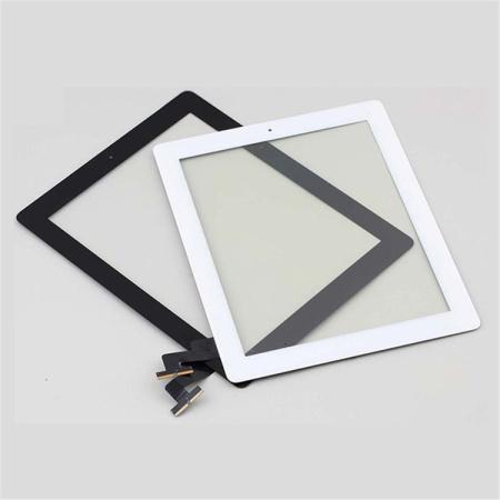 iPad 2 Sort Touch Skærm - Med Home knap (OEM) - Sort