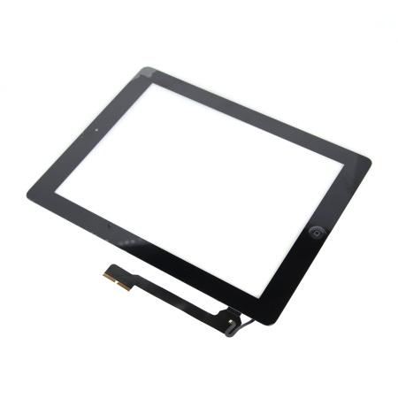 iPad 4 Touch Skærm (OEM)  - Med Home knap - Sort