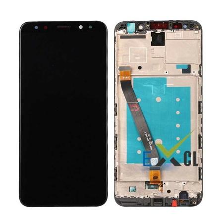 Huawei Mate 10 Lite Sort Med Ramme Skærm Oem Kvalitet